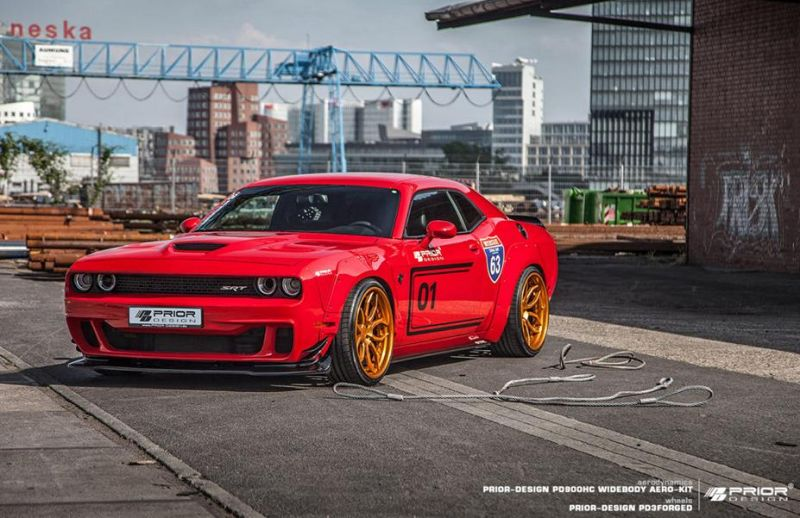 Prior Design PDHC900 PD 900HC Dodge Challenger Hellcat Tuning 3