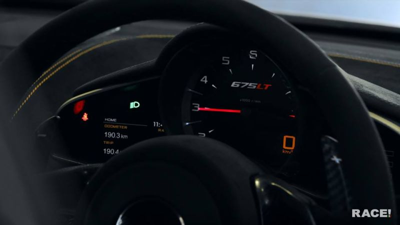 RACE South Africa McLaren 675LT Long Tail Tuning PinStripe 4 Optimiert    RACE! South Africa McLaren 675LT (Long Tail)