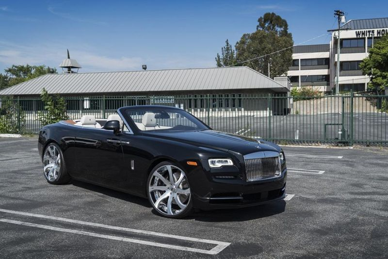Rolls Royce Dawn 24 Zoll Forgiato Wheels Alufelgen Tuning (1)
