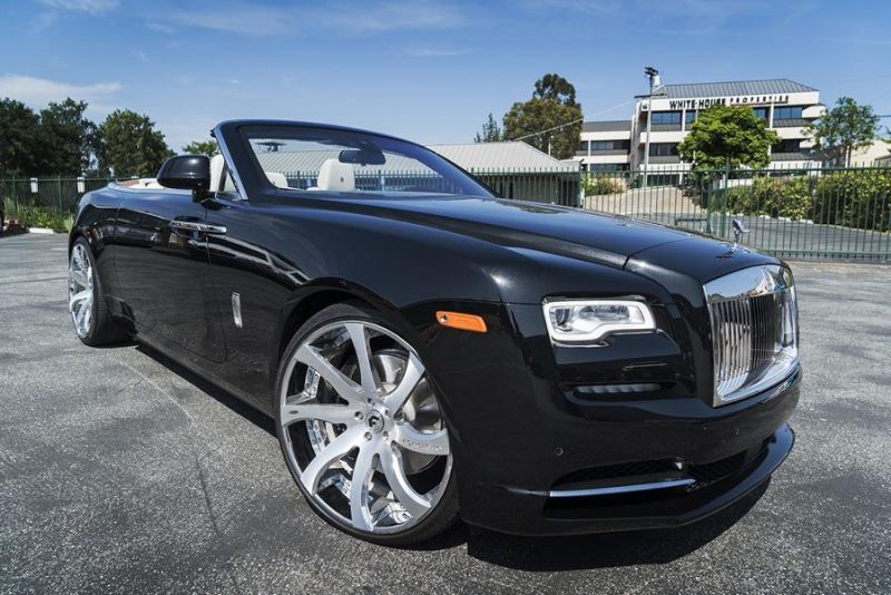 Rolls Royce Dawn 24 Zoll Forgiato Wheels Alufelgen Tuning (2)