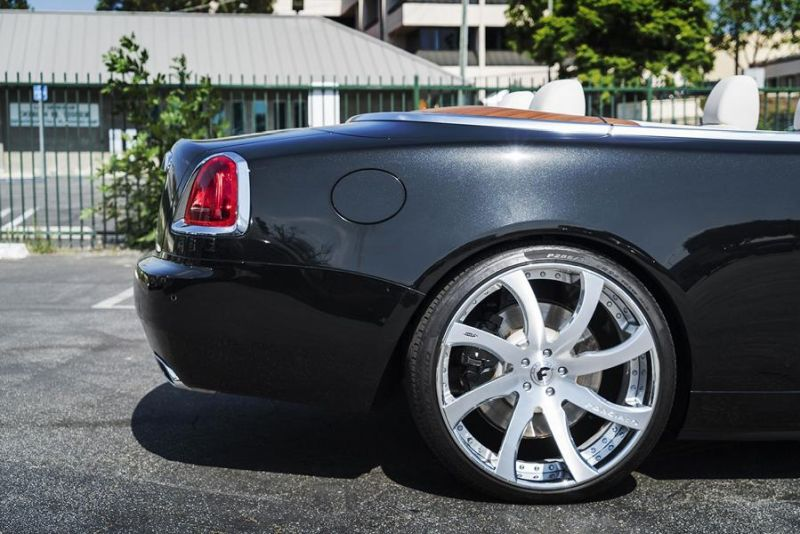 Rolls Royce Dawn 24 Zoll Forgiato Wheels Alufelgen Tuning (5)