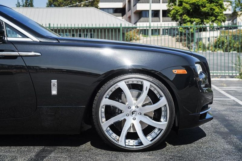 Rolls Royce Dawn 24 Zoll Forgiato Wheels Alufelgen Tuning (6)