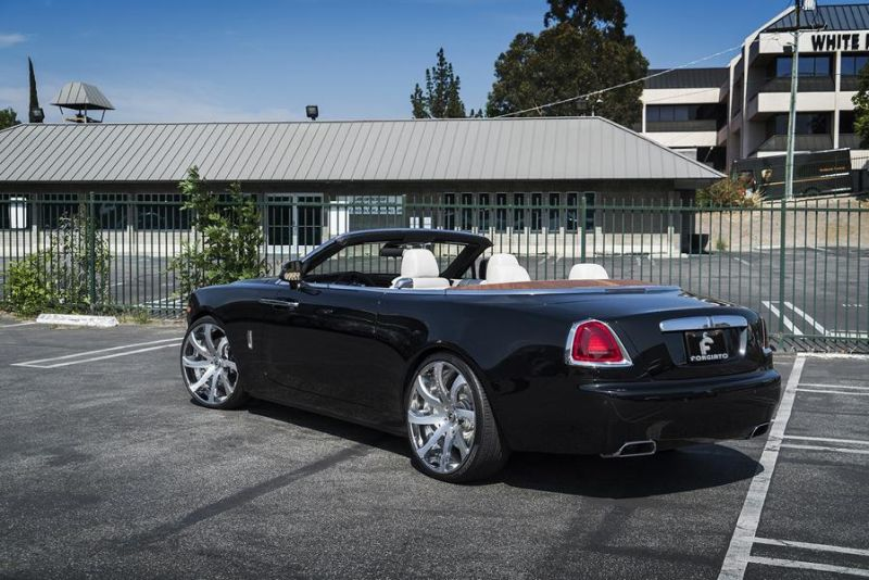 Rolls Royce Dawn 24 Zoll Forgiato Wheels Alufelgen Tuning (7)