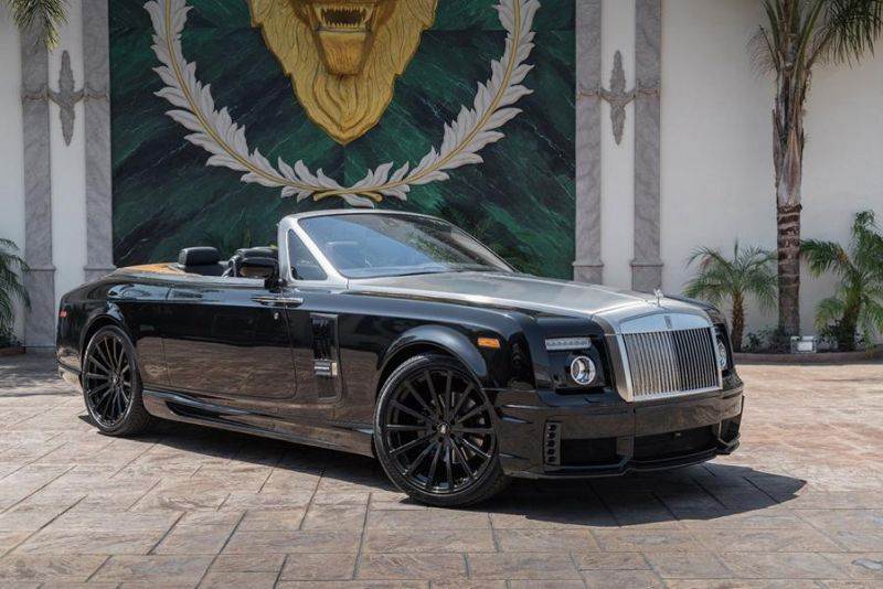 edel rolls royce phantom auf forgiato wheels. Black Bedroom Furniture Sets. Home Design Ideas