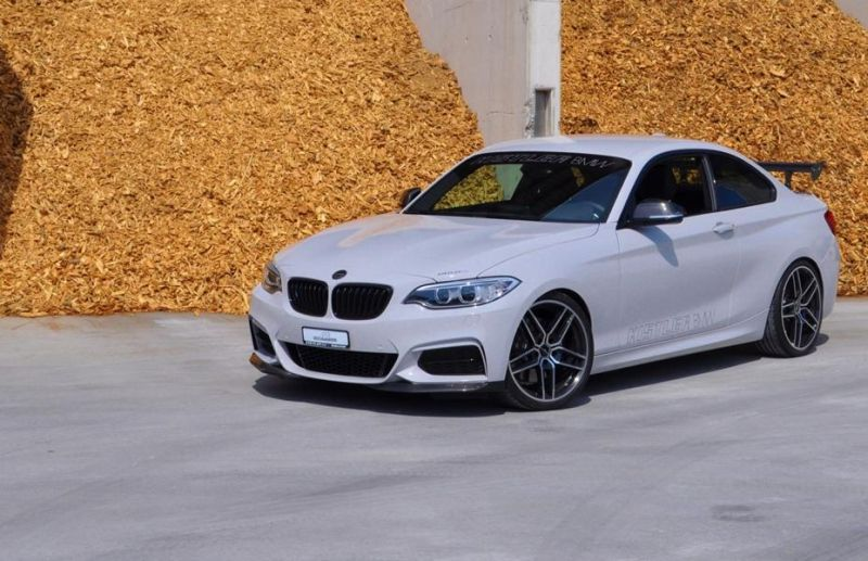 Schnitzer Optik Kistler Chiptuning 420PS BMW M235i 2 Power