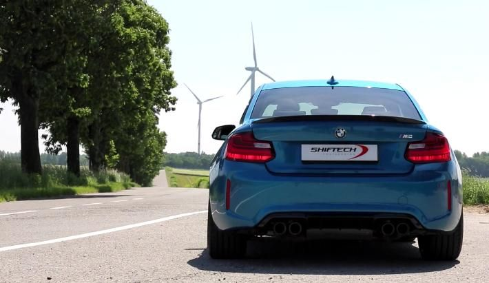 Shiftech BMW M2 F87 Coupe 401PS 615 NM Chiptuning Video: Shiftech BMW M2 F87 Coupe mit 401PS & 615 NM