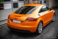 Sunrise Metallic Organge Check Matt Dortmund Audi TT Tuning 8S 6 190x127 Sunrise Metallic Orange am Check Matt Dortmund Audi TT