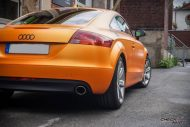 Sunrise Metallic Organge Check Matt Dortmund Audi TT Tuning 8S 8 190x127 Sunrise Metallic Orange am Check Matt Dortmund Audi TT