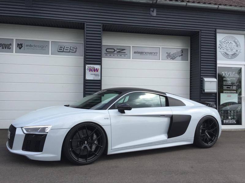 Low 2016er Audi R8 V10 Plus With Kw 20 Inch Bbs Alus