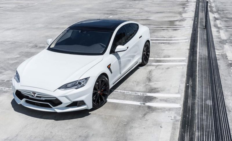 Tesla Model S P90D Facelift Tuning Elizabeta Bodykit 1 Foto & Video: Tesla Model S P90D Facelift mit Elizabeta Bodykit
