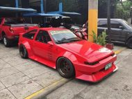 Toyota AE86 Rauh Welt RWB Widebody V8 Power Tuning 5 190x143 Fotostory: Einmaliger Toyota AE86 Widebody mit V8 Power