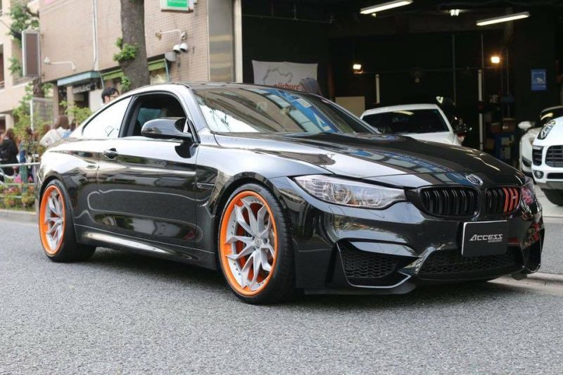 Tuning HRE S201 Orange BMW M4 F82 Coupe 2 Fotostory: HRE S201 Performance Wheels am BMW M4 F82