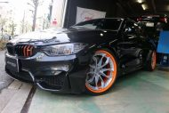 Tuning HRE S201 Orange BMW M4 F82 Coupe 4 190x127 Fotostory: HRE S201 Performance Wheels am BMW M4 F82