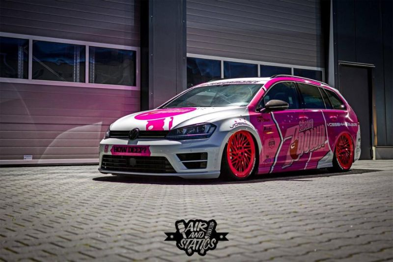 Tuning Projekt Cherry 7down 2.0 Edition VW Golf 7R Variant Vossen LC 105T Camshaft Wrap 3 Tuning Projekt   Cherry 7down 2.0 Edition VW Golf 7R Variant