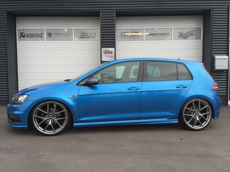 vw golf 7 gti vii 20 zoll bbs ci r kw tuning tvw car
