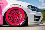 cherry 7down 2 0 edition vw golf 7r variant LC 105T Flamingo Pink Vossen Tuning 10 190x127 Tuning Projekt   Cherry 7down 2.0 Edition VW Golf 7R Variant
