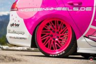 cherry 7down 2 0 edition vw golf 7r variant LC 105T Flamingo Pink Vossen Tuning 11 190x127 Tuning Projekt   Cherry 7down 2.0 Edition VW Golf 7R Variant