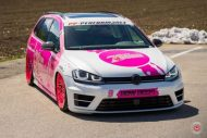 cherry 7down 2 0 edition vw golf 7r variant LC 105T Flamingo Pink Vossen Tuning 12 190x127 Tuning Projekt   Cherry 7down 2.0 Edition VW Golf 7R Variant