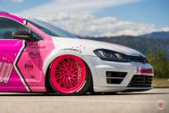 cherry 7down 2 0 edition vw golf 7r variant LC 105T Flamingo Pink Vossen Tuning 18 190x127 Tuning Projekt   Cherry 7down 2.0 Edition VW Golf 7R Variant