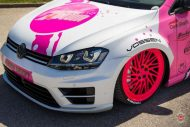 cherry 7down 2 0 edition vw golf 7r variant LC 105T Flamingo Pink Vossen Tuning 19 190x127 Tuning Projekt   Cherry 7down 2.0 Edition VW Golf 7R Variant
