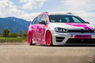 cherry 7down 2 0 edition vw golf 7r variant LC 105T Flamingo Pink Vossen Tuning 23 190x127 Tuning Projekt   Cherry 7down 2.0 Edition VW Golf 7R Variant