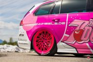 cherry 7down 2 0 edition vw golf 7r variant LC 105T Flamingo Pink Vossen Tuning 26 190x127 Tuning Projekt   Cherry 7down 2.0 Edition VW Golf 7R Variant