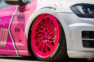 cherry 7down 2 0 edition vw golf 7r variant LC 105T Flamingo Pink Vossen Tuning 27 190x127 Tuning Projekt   Cherry 7down 2.0 Edition VW Golf 7R Variant