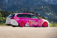 cherry 7down 2 0 edition vw golf 7r variant LC 105T Flamingo Pink Vossen Tuning 30 190x127 Tuning Projekt   Cherry 7down 2.0 Edition VW Golf 7R Variant