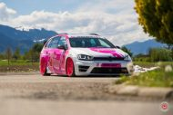 cherry 7down 2 0 edition vw golf 7r variant LC 105T Flamingo Pink Vossen Tuning 31 190x127 Tuning Projekt   Cherry 7down 2.0 Edition VW Golf 7R Variant