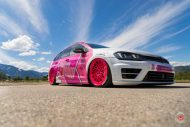 cherry 7down 2 0 edition vw golf 7r variant LC 105T Flamingo Pink Vossen Tuning 32 190x127 Tuning Projekt   Cherry 7down 2.0 Edition VW Golf 7R Variant