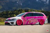 cherry 7down 2 0 edition vw golf 7r variant LC 105T Flamingo Pink Vossen Tuning 36 190x127 Tuning Projekt   Cherry 7down 2.0 Edition VW Golf 7R Variant