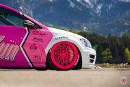 cherry 7down 2 0 edition vw golf 7r variant LC 105T Flamingo Pink Vossen Tuning 37 190x127 Tuning Projekt   Cherry 7down 2.0 Edition VW Golf 7R Variant