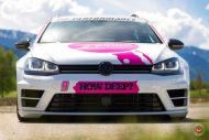 cherry 7down 2 0 edition vw golf 7r variant LC 105T Flamingo Pink Vossen Tuning 38 190x127 Tuning Projekt   Cherry 7down 2.0 Edition VW Golf 7R Variant