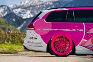 cherry 7down 2 0 edition vw golf 7r variant LC 105T Flamingo Pink Vossen Tuning 4 190x127 Tuning Projekt   Cherry 7down 2.0 Edition VW Golf 7R Variant