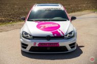 cherry 7down 2 0 edition vw golf 7r variant LC 105T Flamingo Pink Vossen Tuning 40 190x127 Tuning Projekt   Cherry 7down 2.0 Edition VW Golf 7R Variant