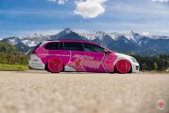 cherry 7down 2 0 edition vw golf 7r variant LC 105T Flamingo Pink Vossen Tuning 5 190x127 Tuning Projekt   Cherry 7down 2.0 Edition VW Golf 7R Variant