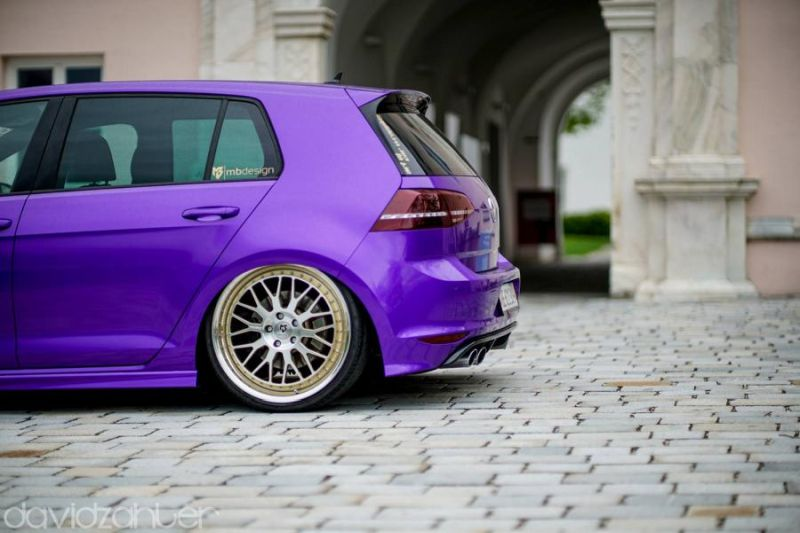 mbDesign LV1.3 Felgen Lila VW Golf 7 MK7 Tuning gepfeffert (4)
