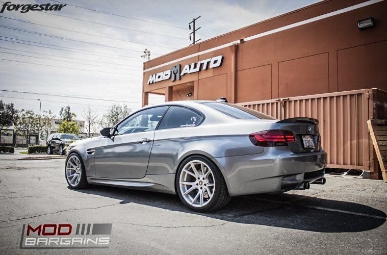 19 Zoll FORGESTAR CF5V Alu's BMW E92 M3 V8 Coupe Tuning (1)
