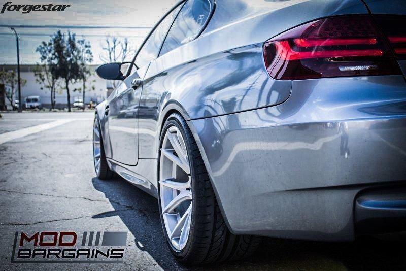 19 Zoll FORGESTAR CF5V Alu's BMW E92 M3 V8 Coupe Tuning (2)