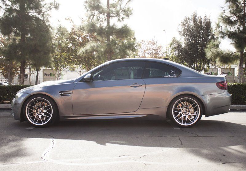 19 Zoll FORGESTAR CF5V Alu's BMW E92 M3 V8 Coupe Tuning (3)