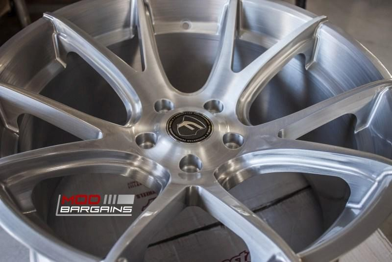 19 Zoll FORGESTAR CF5V Alu's BMW E92 M3 V8 Coupe Tuning (5)