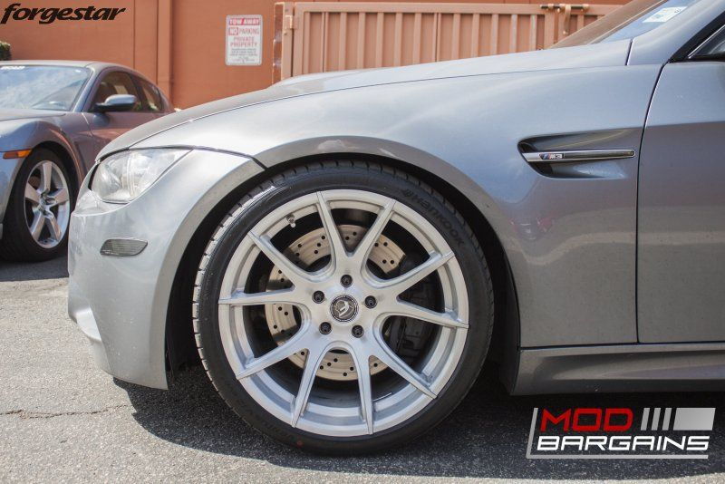 19 Zoll FORGESTAR CF5V Alu's BMW E92 M3 V8 Coupe Tuning (7)