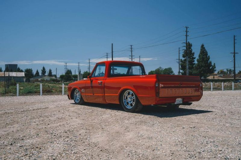 1970 Chevy C10 Airride Accuair E Level Upgrade Tuning Boden Autohaus 1 Fotostory: 1970 Chevrolet C10 mit Accuair E Level Airride   Tuning by Boden Autohaus