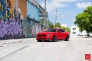 20 Zoll Vossen Wheels VFS5 Tuning Ford Mustang S550 Rot 1 190x127 20 Zoll Vossen Wheels VFS5 am Ford Mustang S550 in Rot