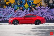 20 Zoll Vossen Wheels VFS5 Tuning Ford Mustang S550 Rot 3 190x127 20 Zoll Vossen Wheels VFS5 am Ford Mustang S550 in Rot