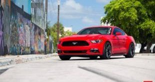 20 Zoll Vossen Wheels VFS5 Tuning Ford Mustang S550 Rot 8 1 e1469161572516 310x165 20 Zoll Vossen Wheels VFS5 am Ford Mustang S550 in Rot