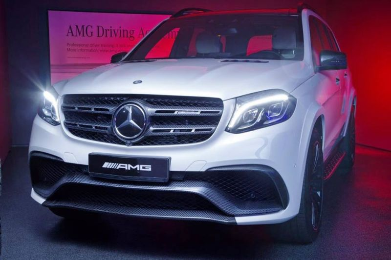 2017 Carbon Bodykit Mercedes Benz GLS 63 AMG by Tuning Empire 1 Viel Carbon   Mercedes Benz GLS 63 AMG by Tuning Empire