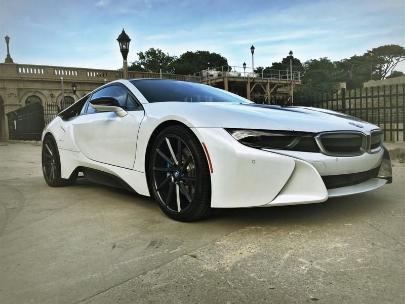 21 Inch Vossen Wheels Vps 310 T Alloy Wheels On The Bmw I8