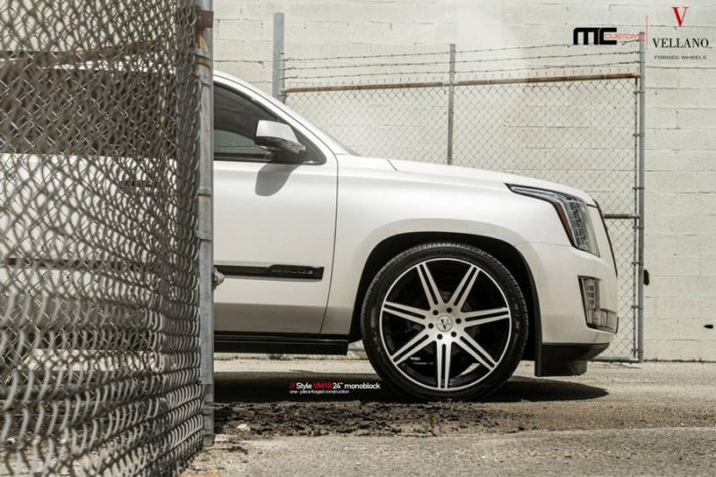 24 Zoll Vellano Forged Wheels Cadillac Escalade VM10 Monoblock 1 24 Zoll Vellano Forged Wheels am Cadillac Escalade
