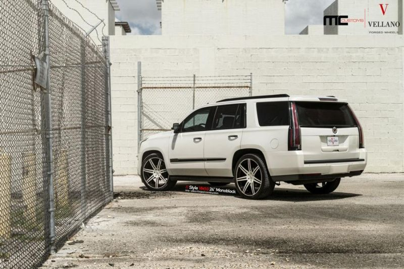 24 Zoll Vellano Forged Wheels Cadillac Escalade VM10 Monoblock 2 24 Zoll Vellano Forged Wheels am Cadillac Escalade